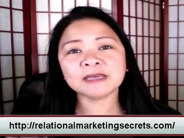 Social Media – Relational Marketing Secrets