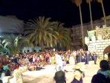 MOROS Y CRISTIANOS DE BELLREGUARD 2011. EMAJADA CRISTIANA RECONQUISTA EL CASTILLO