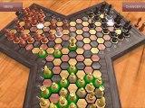Triad-Chess : Démonstration du jeu d'échecs à trois joueurs - Triade Echecs - Android App store appstore apple application game 3 players joueurs chessboard échiquier