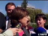 Primaires socialistes 2011: Martine Aubry au Mans