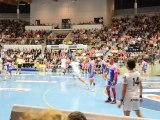 Cesson - Nimes / Championnat handball LNH 23-09-2011 attaque nimoise