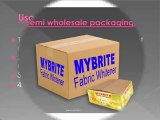 mybrite fabric whitener for white clothes semi wholesale packaging mybrite.in fmcg product indian manufacturer supplier exporter fabric care after wash cloth whitener for pure white cotton clothes laundry