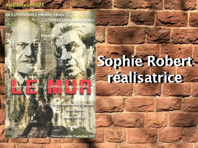 itw de Sophie Robert par autisme.info31