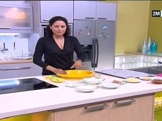 Ghriba a la noix de coco et orange