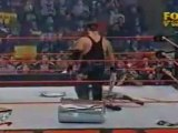 WWF Raw 12/10/2001 - The Undertaker vs Spike Dudley - WWF Hardcore Championship