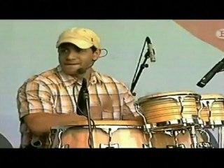 Vladimir Núñez percusionista de Orishas