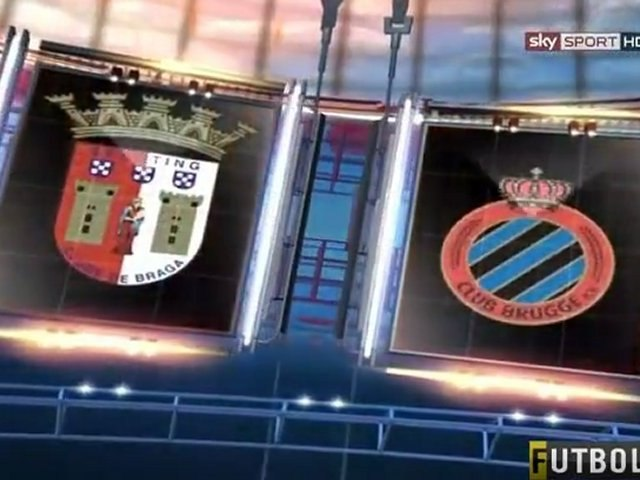 Sporting Braga - Club Brugge 1:2 Highlights