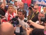 Rallye d'Alsace 2011 : Sébastien Loeb réagit à son abandon dans le stand de Citroën