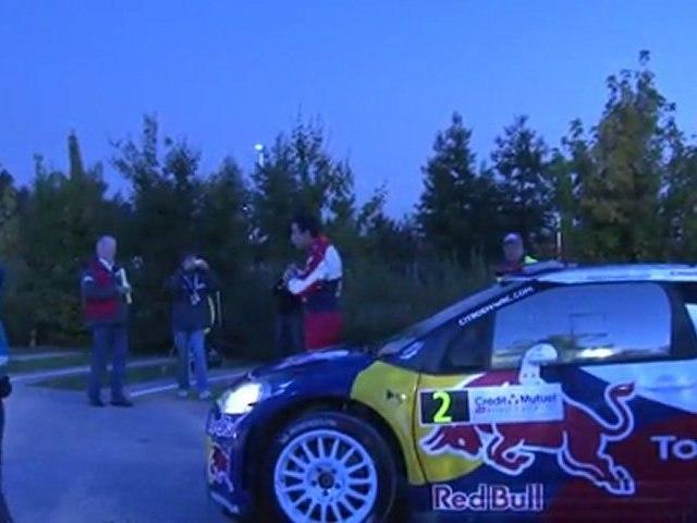 WRC 2011 - Rallye de France - Alsace / Le Départ (30/09/2011)