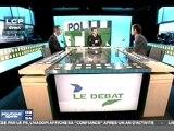 Débat Brossat (PCF)  - Bournazel (UMP) sur LCP du 30 septembre 2011