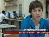 Les étudiants du Pôle Espoirs Cyclisme de Vendée