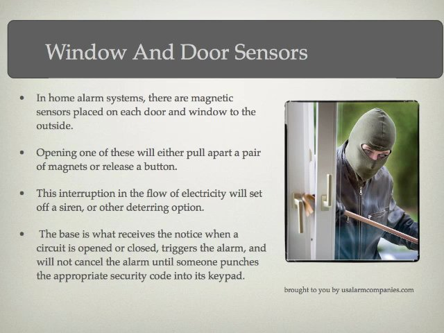 Home Alarm Systems – What Do They Consist Of?