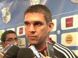 Réactions des entraîneurs après Amiens SC- EA Guingamp