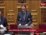 Sénat Discours de Paul Vergès - Jean-Pierre Bel élu président & son discours