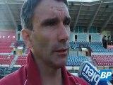 Avant-match DFCO - Ajaccio avec Patrice Carteron