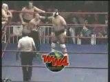 Mil Mascaras, hijo del Santo, Rey Mysterio Jr & Perro Aguayo vs Dr. Wagner Jr. Juventud Guerrera, Cien Caras & hijo del Diablo.