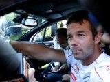 Rallye d'Alsace 2011 : Sébastien Loeb parle aux Alsaciens