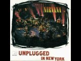 "Nirvana ""About a girl"" (unplugged in New York)"
