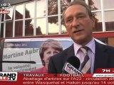 Primaires PS : Denaloë soutient Martine Aubry à Tourcoing