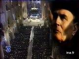 François Mitterrand - Obsèques à Notre Dame de Paris en 1996