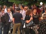 Los funcionarios griegos ocupan los ministerios