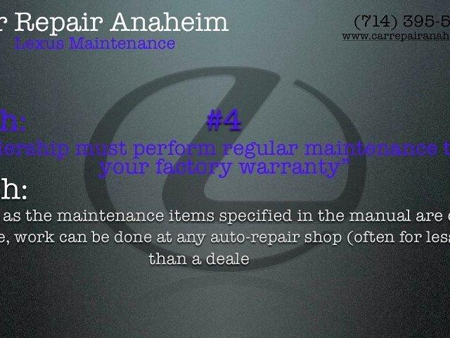 Lexus Maintenance Anaheim – Lexus Service Anaheim