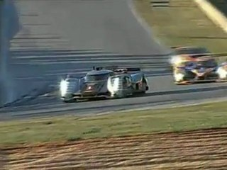 ALMS, Road Atlanta 2011 - LMP1 battle Audi vs Peugeot