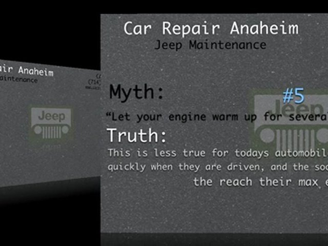 Jeep Maintenance Anaheim – Jeep Service Anaheim