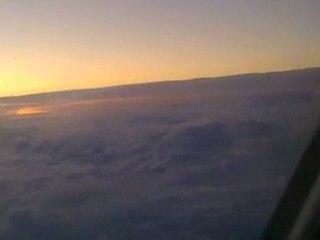 L'infini, vue depuis un vol Toronto-Montréal