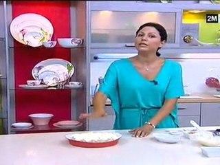 Gratin de poisson sauce béchamel Recette de Choumicha 2012 et ses légumes