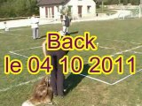 Back entraînement cavage le 04 10 2011