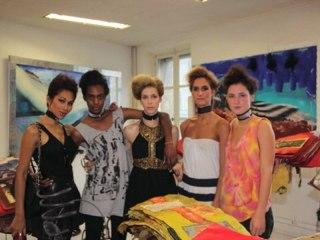 Jarl Ale de Basseville fashion show  spring summer paris 2012 by vincent mauriange