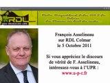 F. Asselineau / UPR / 5 oct. 2011/ RDL Radio