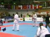 Finale Kumite Garçon Junior -70Kg - Championnats d'Europe de Karaté Cadet/Junior 2008