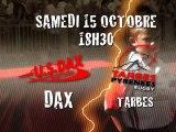 Annonce de match U.S.Dax Rugby Landes - Tarbes Pyrénées Rugby