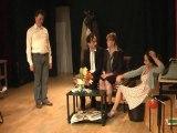 Strip-poker (extraits) de Jean-Pierre Martinez MeS Noël Lafon avec Sandrine Belzacq Florence Cabes Laurent Besançon N.Lafon costumes Jeanne Dremière par ATG