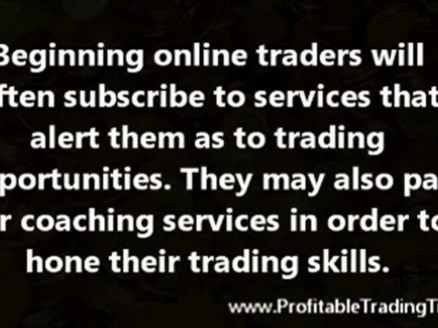 How to Profit From Online Stock Trading