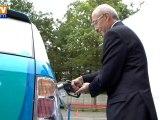 Présentation de la voiture à hydrogène