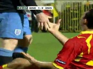 Montenegro 2 - 2 England