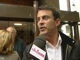 Primaire socialiste 2011: Manuel Valls confiant (Essonne)