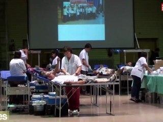 Marató de recollida de sang a Sants