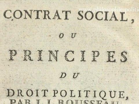 J-J. Rousseau Du Contrat Social Chapitre 1