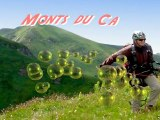 Monts du cantal vus du ciel