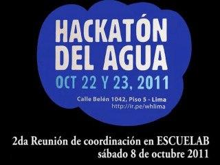 """Hackatón del Agua - Lima 2011 """"WaterHackathon"""", 2da reunión"""