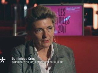 Entretien avec Dominique Gros, réalisatrice, présidente du jury des Etoiles de la Scam 2011