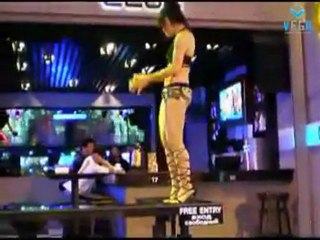 Pattaya girl dancing