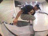 Italo Romano, skateur sans jambes chez DC Shoes