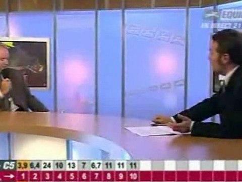 interview de Didier Louis par Equidia
