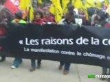 9 ème manifestation contre le chômage et la précarité