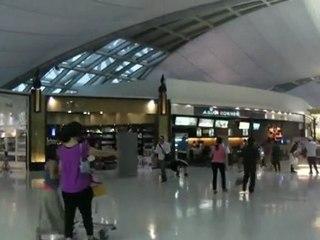 Bangkok International Airport Inside